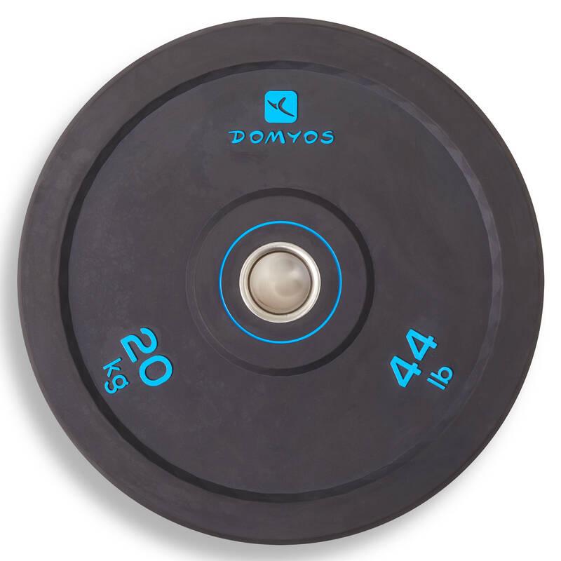 Weight lifting Fitness - KOTOUČ BUMPER 20 KG DOMYOS - Posilování a kruhový trénink