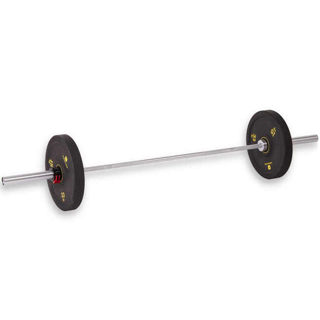 Weightlifting Bar 15 kg - 50 mm Diameter Sleeve - 25 mm grip