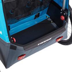 Fietskar en kinderwagen voor multisport Thule Coaster XT aanhangwagen.