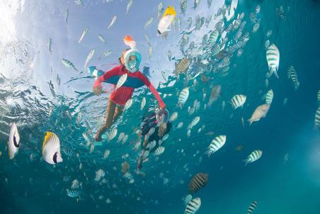 Boya Flotación Snorkeling 100 Azul oscuro