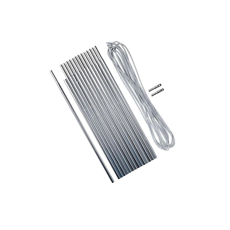 4.5 m x Ø 8.5 mm Aluminum Pole Kit; 15 x 30 cm Tent Poles