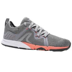 PW 540 Comfort Women's Fitness Walking Shoes - Grey/Pink