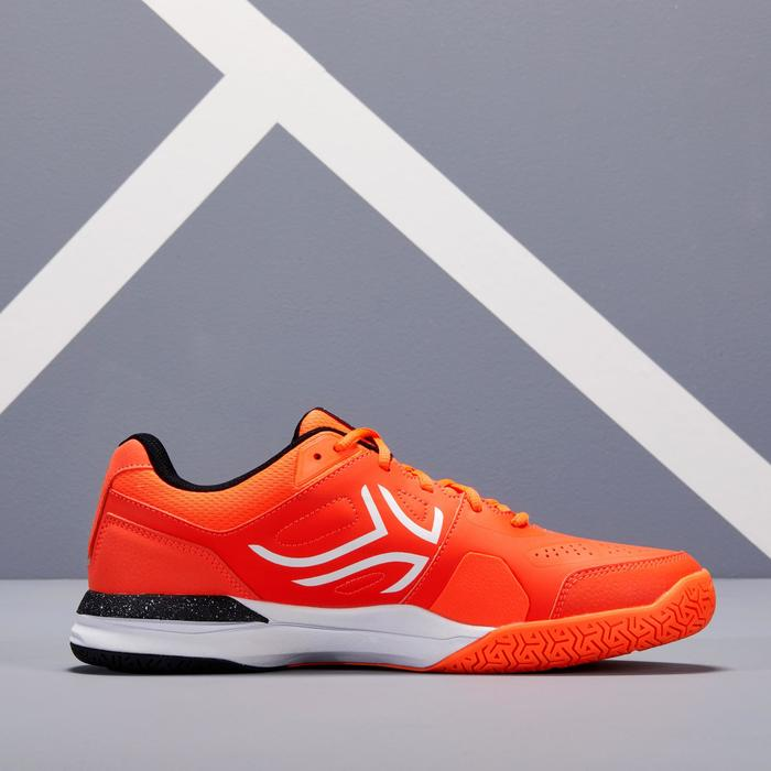 CHAUSSURE DE TENNIS HOMME TS500 ORANGE MULTI COURT