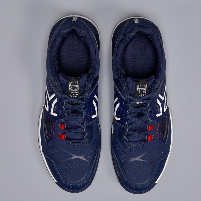 Tennisschuhe TS500 Multicourt Herren marineblau