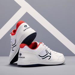 Tennisschoenen voor heren TS130 wit multicourt