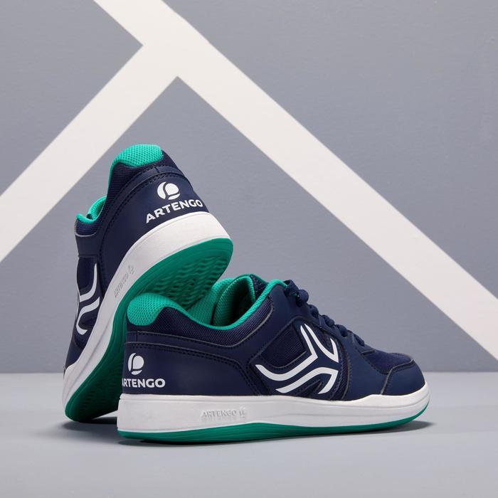 Tennisschoenen voor heren TS130 marineblauw multicourt