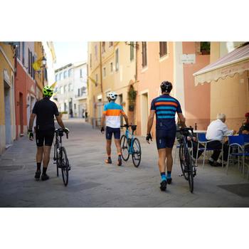 Leren fietsschoenen SPD 520 met veters en gesp bruin