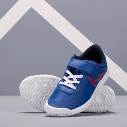 Tennisschoenen kinderen Artengo TS130 blauw/rood