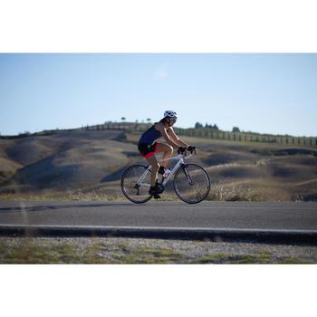 Fahrradhelm Rennrad RR 500 weiß