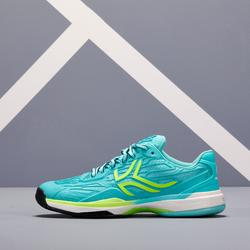 女款網球鞋TS990-淺碧藍色