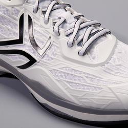 Tennisschuhe TS990 Multicourt Herren weiß/schwarz/grau