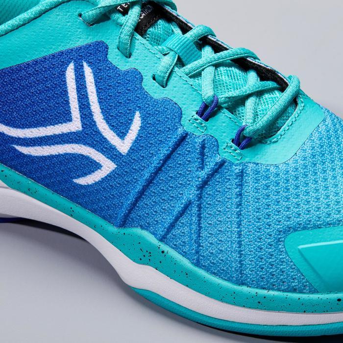 女款網球鞋TS 590-淺碧藍色