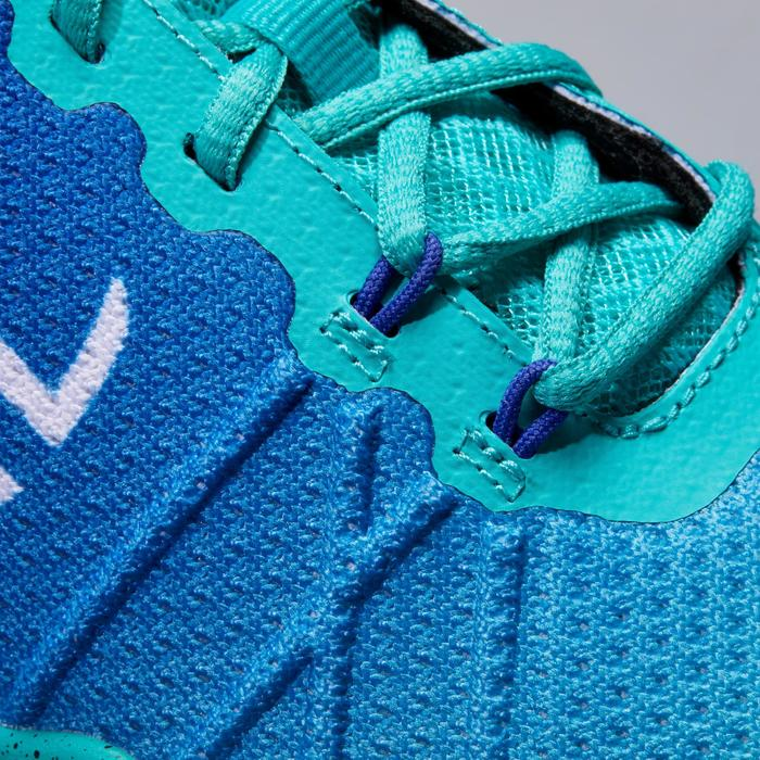 Tennisschoenen voor dames TS590 turquoise