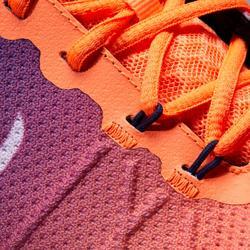 多場地適用款網球鞋TS590 - 珊瑚紅配藍色