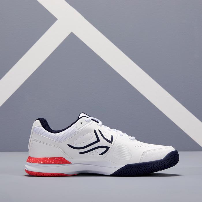 Tennisschoenen voor dames TS 500 wit