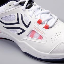 Tennisschoenen TS500 voor dames wit
