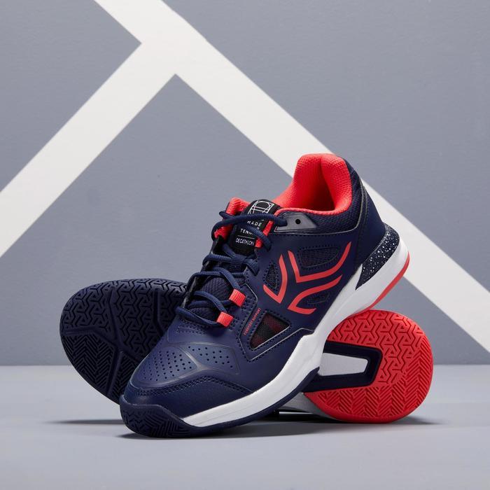 Tennisschuhe TS 500 Damen marineblau