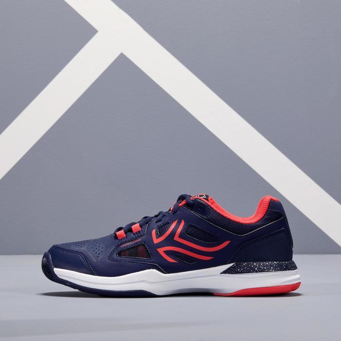 Tennisschoenen dames TS500 marineblauw