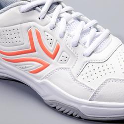 Tennisschuhe TS 190 Allcourt Damen weiß