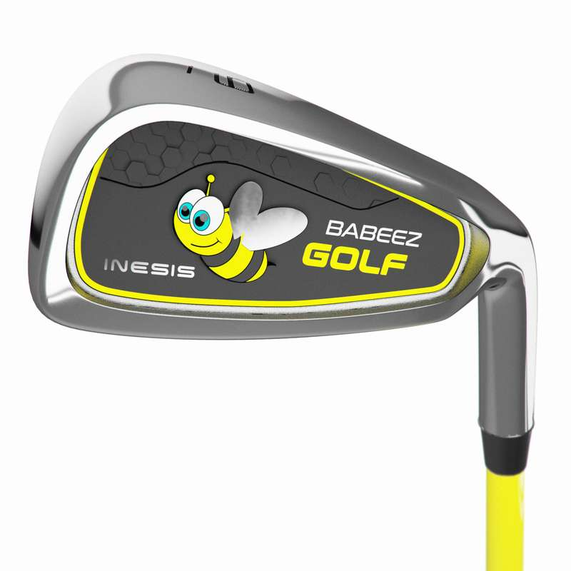 JUNIOR GOLF EQUIPMENT Golf - Kids' 9-Iron 2-4 Years RH INESIS - Golf Clubs