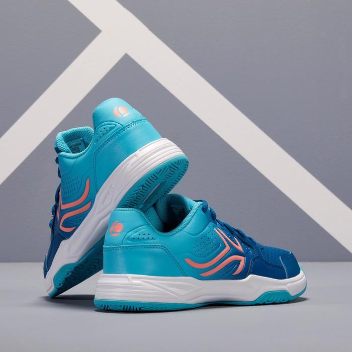 女款網球鞋TS 190-淺碧藍色