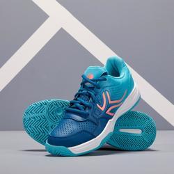 Tennisschoenen voor dames TS 190 turquoise