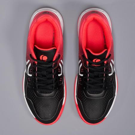 TS 190 Women's Tennis Shoes - Black/Pink