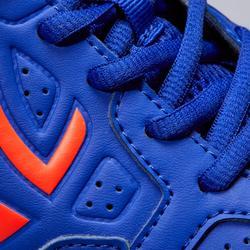 Zapatillas de Tenis Hombre TS190 Azul Naranja Multipista