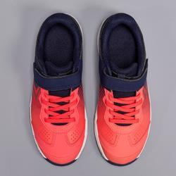 Tennisschoenen voor kinderen TS160 gradient roze