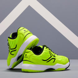 TS990 Kids' Tennis Shoes - Neon Yellow