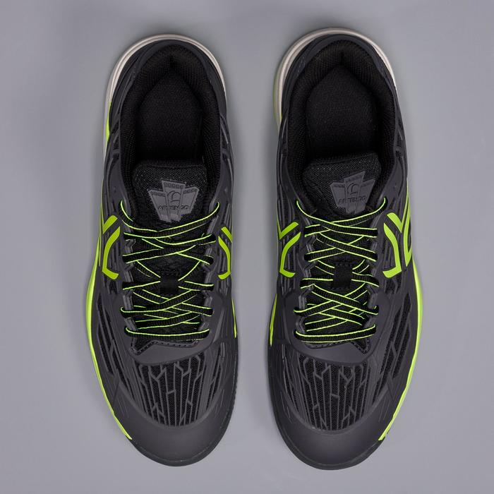 TS990 Tennis Shoes for Clay Courts - Black/Yellow