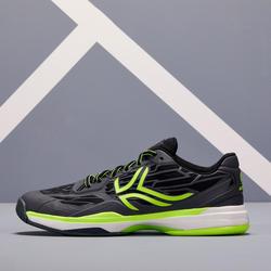 多場地適用網球鞋TS990 - 黑黃配色