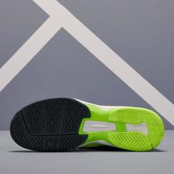 Tennisschoenen voor heren TS990 zwart geel multicourt