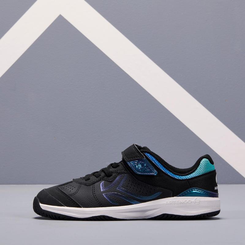 TS160 Kids' Tennis Shoes - Black Beetle