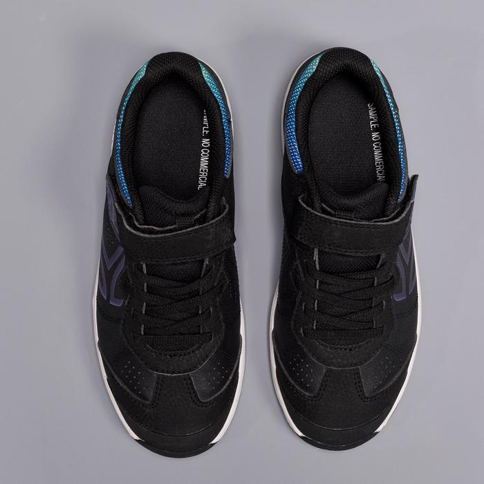 Tennisschoenen kinderen Artengo TS160 zwart met keverprint