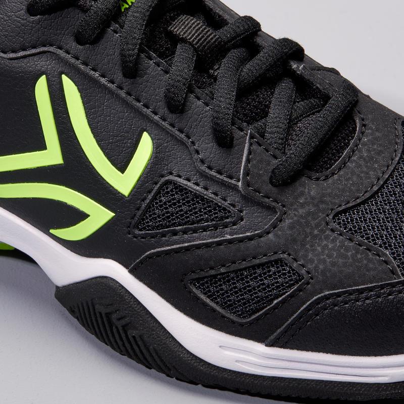 TS560 JR Kids' Tennis Shoes - Black/Yellow