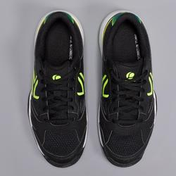 CHAUSSURES DE TENNIS ENFANT ARTENGO TS560 JR BLACK YELLOW