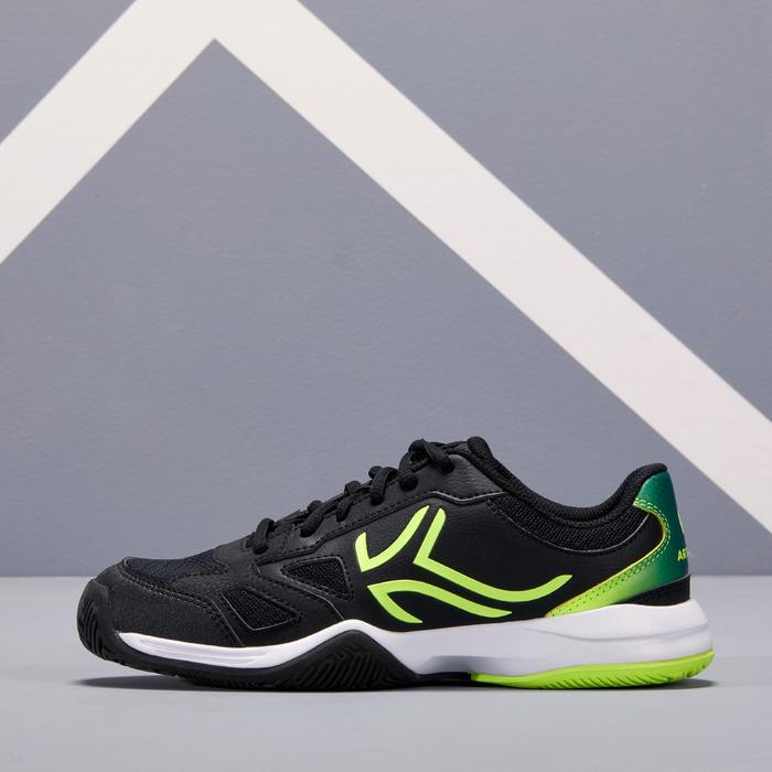 Tennisschoenen voor kinderen Artengo TS560 zwart geel