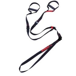 Correa Suspensión Cross Training Domyos 100 Strap Training Negro/Rojo