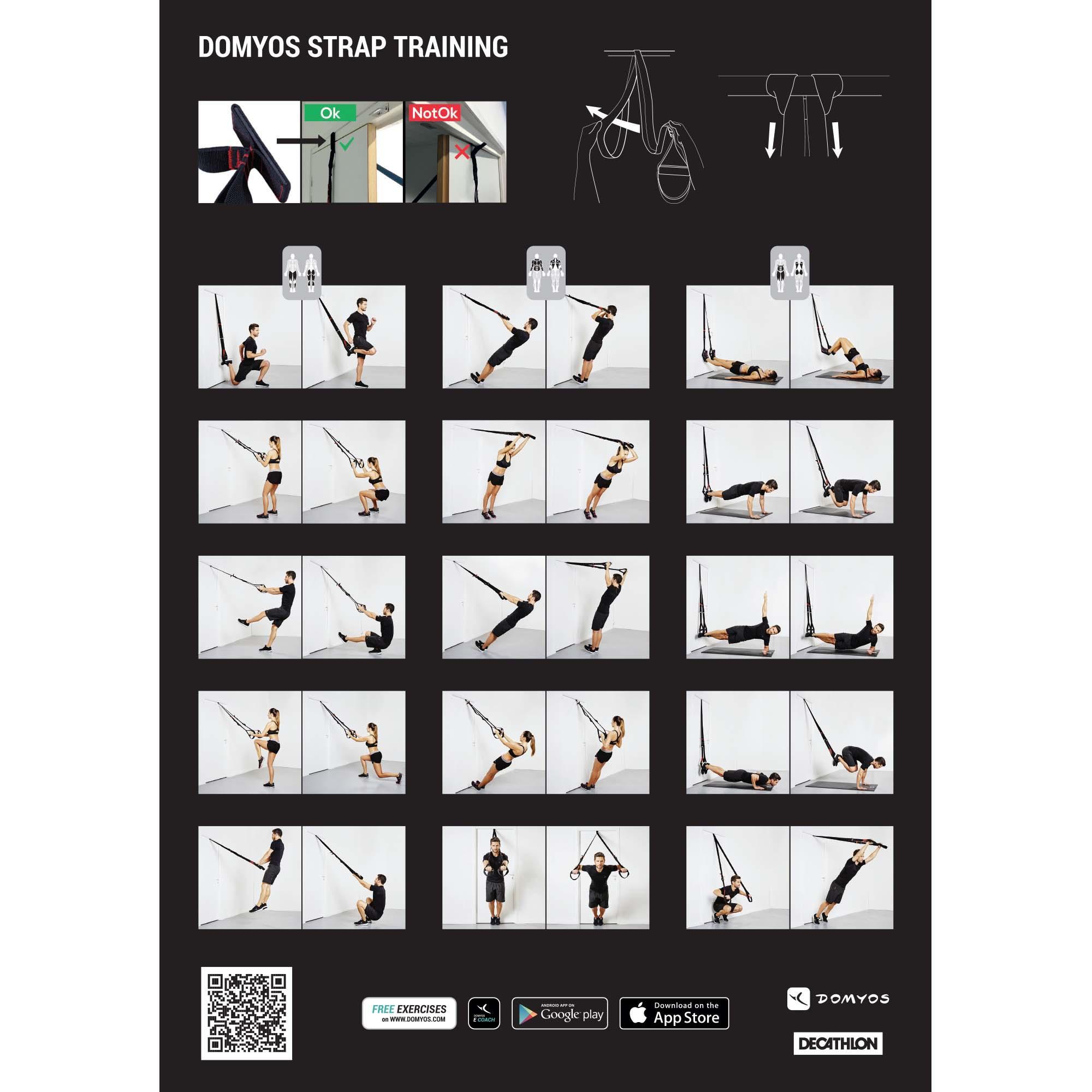 Training 100 Cross-Training Suspension Strap