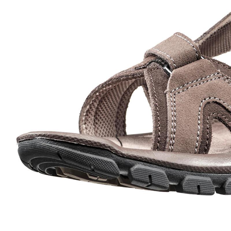 Men's Nature Hiking Sandals NH120- Brown