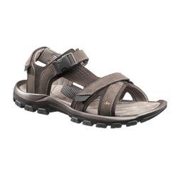 Sandálias de caminhada - NH120 - Homem castanho