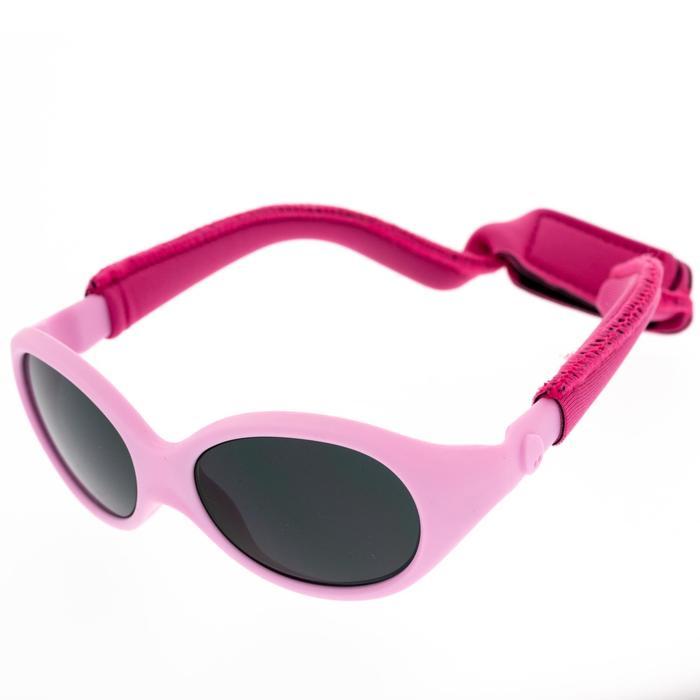 Babyzonnebril voor hiking 6-24 maanden MH B100 roze categorie 4