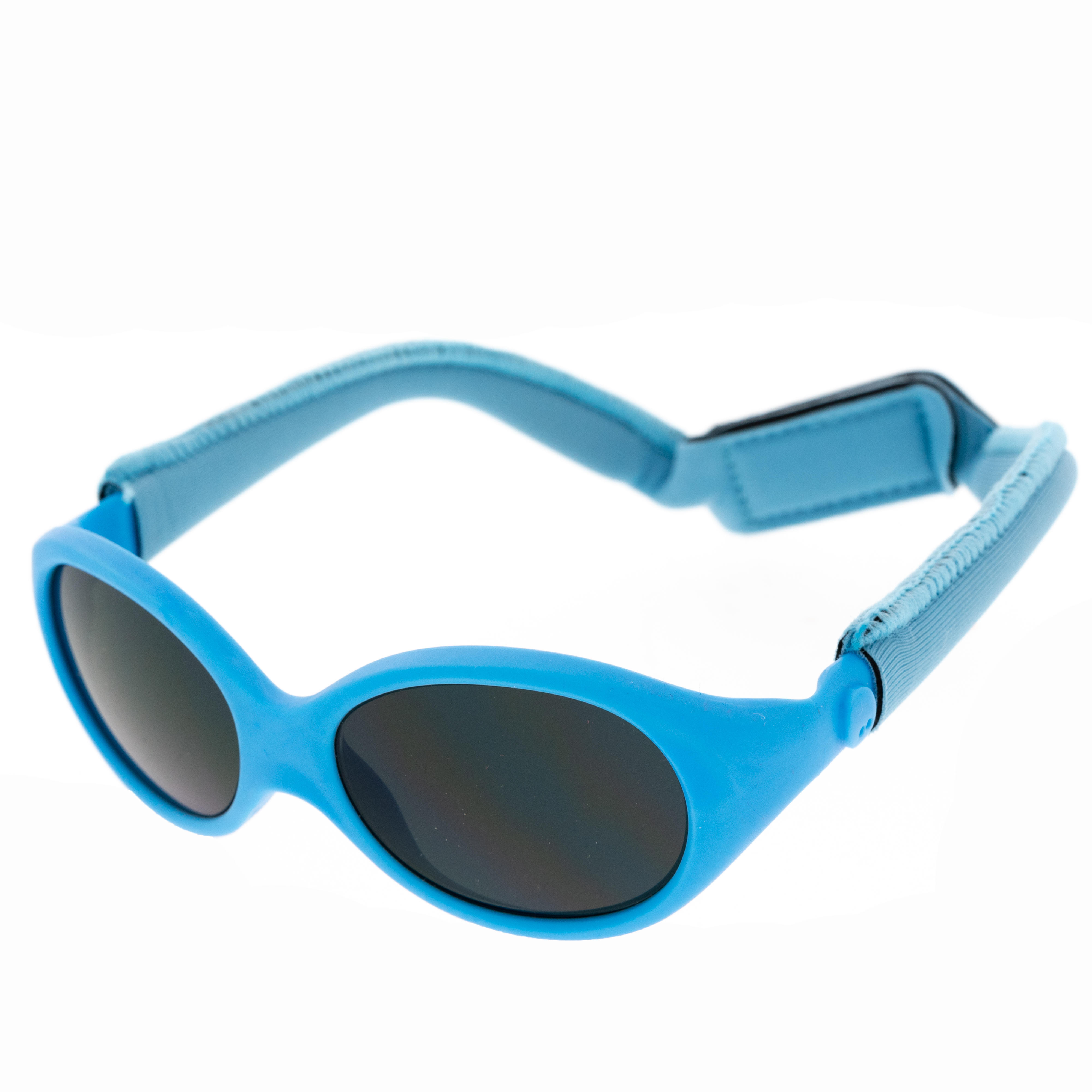 Baby Hiking Sunglasses (6-24 Months) MH B100 Category 4 - Blue