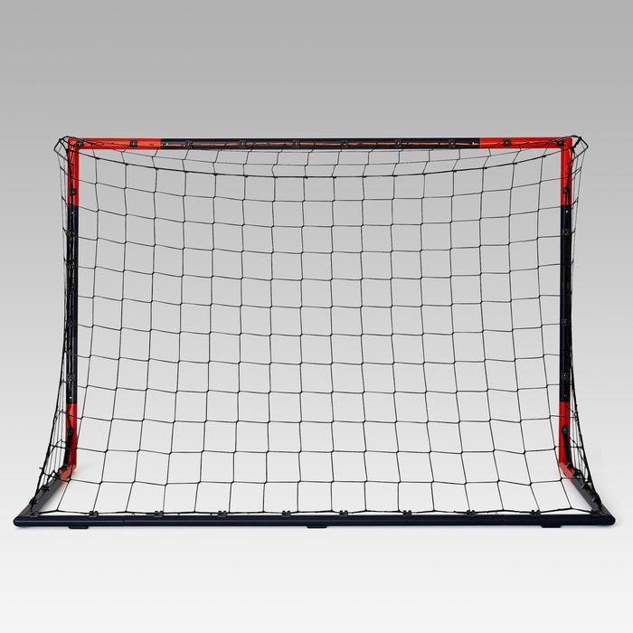 SG 500 Football Goal Size M - Navy Blue/Orange