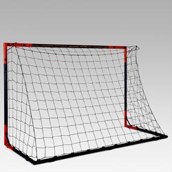 Voetbaldoeltje Classic Goal SG500 maat M 1,80x1,20 m marineblauw/rood