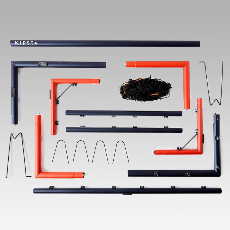 Arco de fútbol SG 500 talla M azul marino/naranja