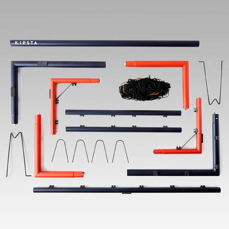 """Futbolo vartai """"SG500"""", M dydis, tamsiai mėlyni / oranžiniai"""