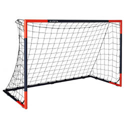 SG 500 Soccer Goal Size M - Navy Blue/Orange