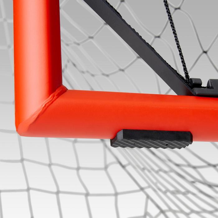 Voetbaldoeltje Classic Goal SG500 maat M 1,80x1,20 m marineblauw/oranje